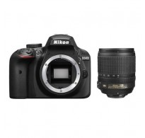 Nikon D3400 Kit AF-S DX 18-105mm f/3.5-5.6G ED VR και Θήκη Δώρο (Με Cashback 100 €)