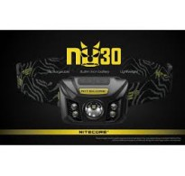ΦΑΚΟΣ LED NITECORE HEADLAMP NU30, Black