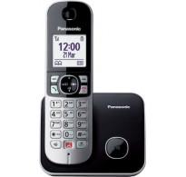 Panasonic KX-TG6851 Ασύρματο Τηλέφωνο με Aνοιχτή Aκρόαση