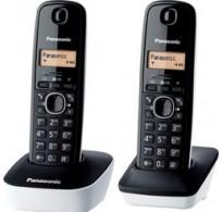 Panasonic KX-TG1612 Duo Ασύρματο Τηλέφωνο Duo
