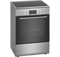 Serie | 4 Ελεύθερη κουζίνα με ηλεκτρικές εστίες INOX HKR39A150