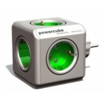 Πολυπριζο PowerCube Green με 5 εξοδους Schuko
